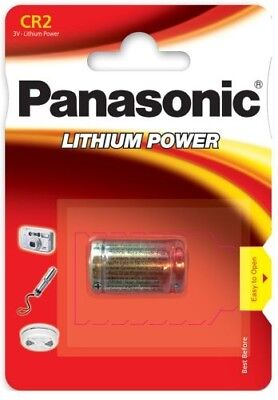 Battery special photo CR2 3V lithium Panasonic, 2 BATTERIES BOUGHT = 1