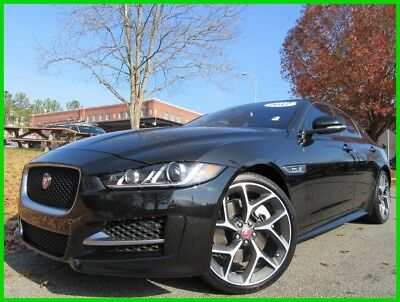 2017 Jaguar XE 35T R-SPORT AWD BLUETOOTH TOUCHSCREEN BACK UP CAMERA HEATED SEATS 2017 JAGUAR XE 35T R-SPORT AWD COSMIC BLACK LEATHER INTERIOR SUNROOF TOUCHSCREEN