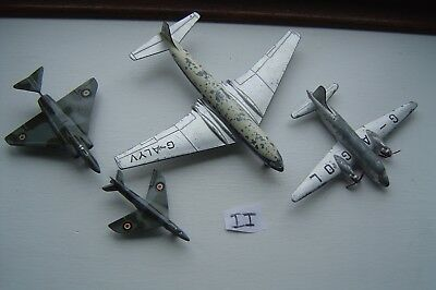 Dinky Toys Mixed Planes Airplanes   Job Lot Joblot Antique Vintage 1P Ref Ii