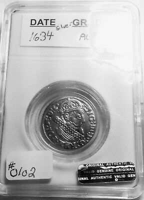 Medieval Silver Coin From 1634AD Super Nice!