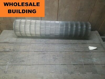 "Durahinge Conveyor Belting, 40"" Width, 15' Length, Spring Tempered Stainless"