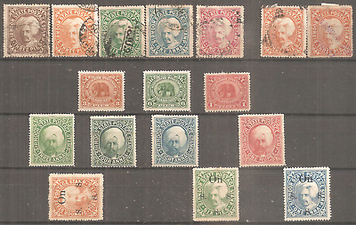 India Old States Of India Sirmoor Unused With Part Gummed All Major Very Fine