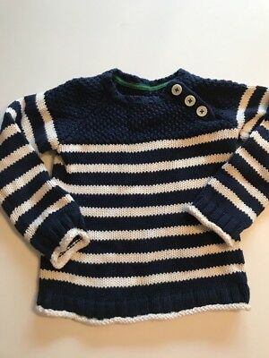 Baby Mini Boden Sweater Boys Size 2-3 Ln Worn Once