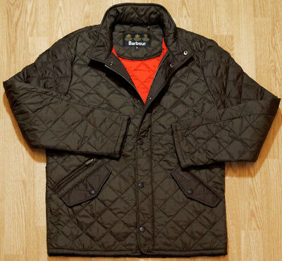Barbour FLYWEIGHT CHELSEA QUILTED Men's Jacket M Olive