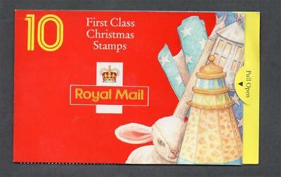 Gb 1994 Lx6 10 X 1St Class Christmas Barcode Booklet