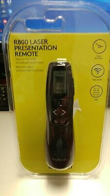 Logitech R800 Laser Presentation Remote - New In Package                 0115184