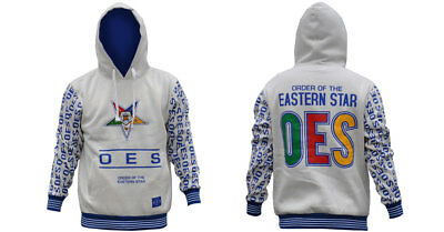 Order of the Eastern Star OES Hoodie- Size Large-New!