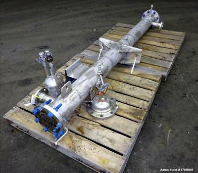 Used- Southern Heat Exchanger Shell & Tube Heat Exchanger, Approximate 41 Square