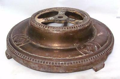 Vintage Art Deco Cast Iron Base Floor Lamp Tobacco Smoking Stand Parts Lamp Base