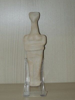 Antique Stone Figure statuette,mother godess,fertility,idol,god,alien