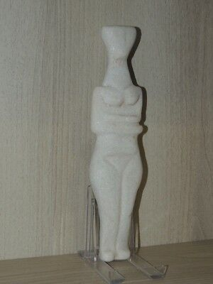 Antique Giant Stone Figure statuette,mother godess,fertility,idol,god,alien