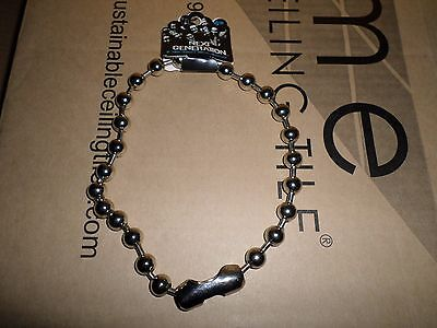1 New 18 Inch Necklace Metal Huge Ball, Punk Gothic Chain