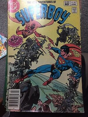The New Adventures Of Superboy #42