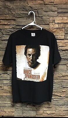 Bruce Springsteen Tshirt Magic 2007 Tour E Street Band Large Black