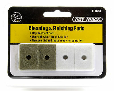785-4553 - Woodland TT4553 - Tidy Track Cleaning & Finishing Pads (Polierpads)