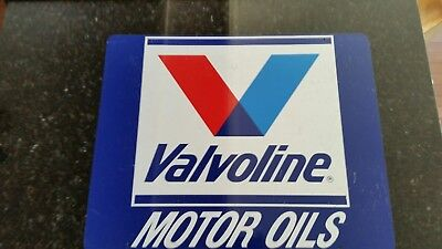 Valvoline motor oil sign