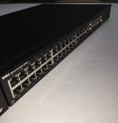 Dell Connect 2848 - Switch - 48 Port Gigabit - Managed - Rack - Mountable