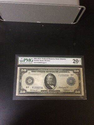 1914 $50 Large Size Federal Reserve Note