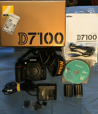 Nikon D7100 24.1MP Digital SLR Camera - With extra battery - Excellent Condition