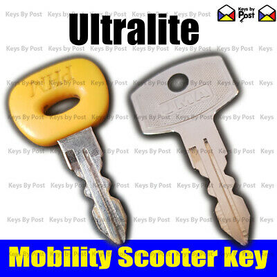 ULTRALITE 480 Spare Replacement Mobility Scooter Ignition on off Key