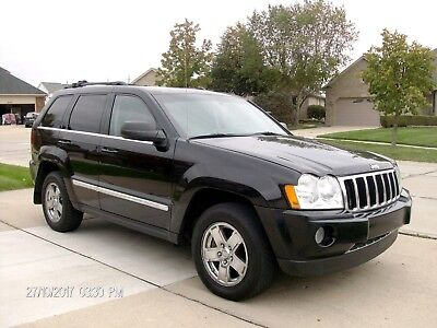 """2007 Jeep Grand Cherokee """"Limited"""" Diesel  4x4       One owner Gorgeous 2007 Grand cheroke Diesel - One Owner - DVD -Heated Leather - Low Miles"""