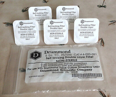 Drummond Pipet-Aid Filters for Pipette Controller - 5 Pack - Cat. #4-000-051