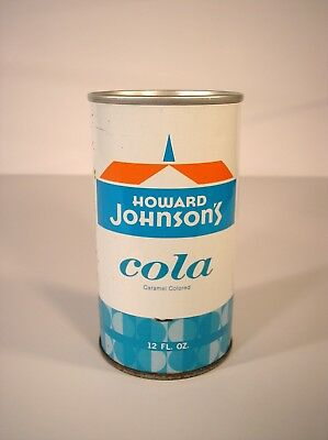 Howard Johnsons Cola Pull Tab Soda Can