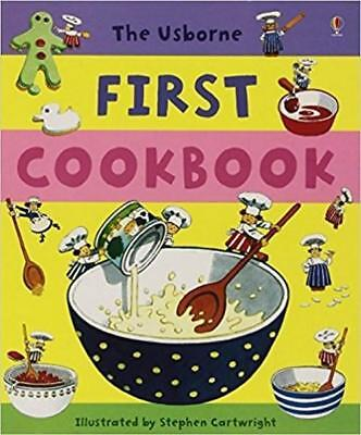 NEW First Cookbook By Angela Wilkes Hardcover Free Shipping