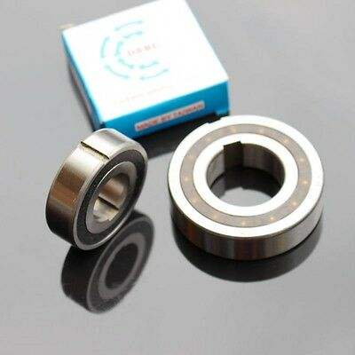 CSK17PP One Way Clutch Bearing With Internal & External Keyway 17*40*12mm x 1Pcs