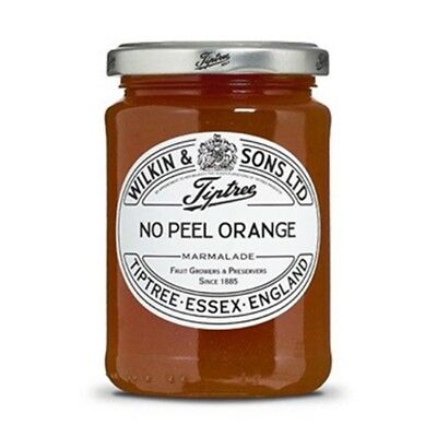 Tiptree English Marmalade, No Peel Orange Marmalade , (2 Jars x 340g)
