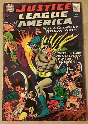 Justice League Of America #55 Vg