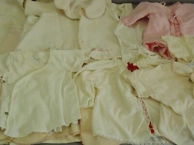 Lot of 12 Vintage c1950's Baby cloth