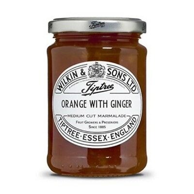 Tiptree English Marmalade, Orange & Ginger Marmalade , (2 Jars x 340g)