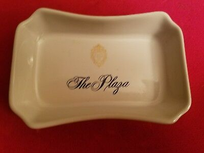 the plaza hotel nyc porcelain change dish