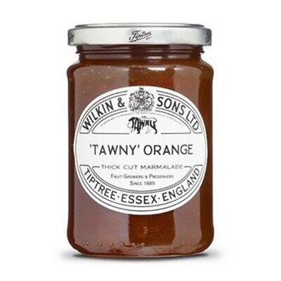 Tiptree English Marmalade, Tawny Orange Marmalade ,(2 Jars x 340g)