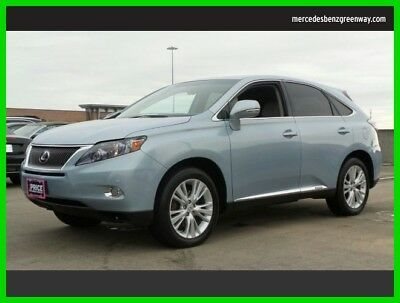 2010 Lexus RX Base Sport Utility 4-Door 2010 Used 3.5L V6 24V Automatic Front Wheel Drive SUV Premium Moonroof