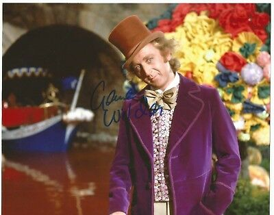 Gene Wilder Signed Autographed 8x10 Photo + COA. Willy Wonka