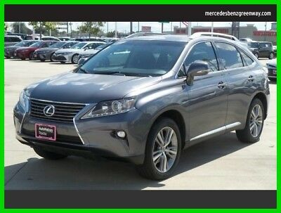 2015 Lexus RX Base Sport Utility 4-Door 2015 Used 3.5L V6 24V Automatic Front Wheel Drive SUV Premium Moonroof