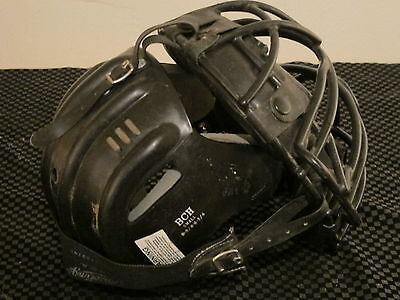 Rawlings Pwm Catchers Umpire Face Mask With Rawlings Bch Back Cap 65/8-63/4