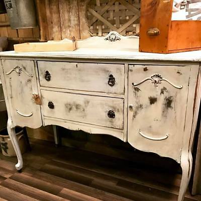 1930's Distressed Antique Sideboard