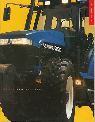 1997 New Holland Full Line Sales Catalog, 8670. 8770, 8870, 8970, Tr 88, Tr 98