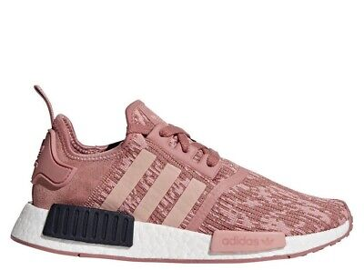eb3415290e568  BY9648  Womens Adidas NMD R1 W Running Sneaker - Raw Pink Trace Legend Ink