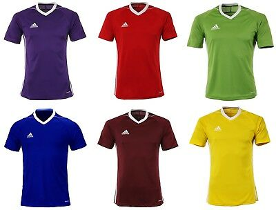 Adidas Youth Tiro 17 Training Soccer Climacool 6 Colors S/S Kid Shirts BJ9103