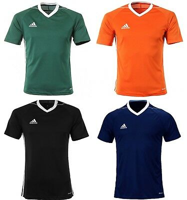 Adidas Youth Tiro 17 Training Soccer Climacool 4 Colors S/S Kid Shirts BJ9112