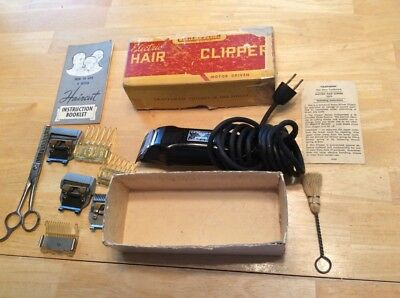 Antique/Vintage Sears Craftsman Electric Hair Clippers/Trimmers, Model 9270