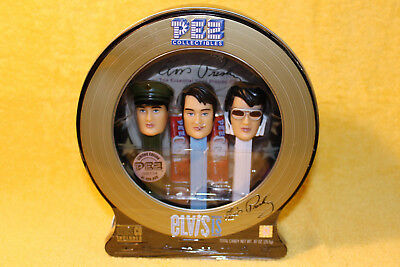 PEZ Sealed Elvis Presley Gift Pack # 914 Candy Dispensers w/ CD Limited Edition