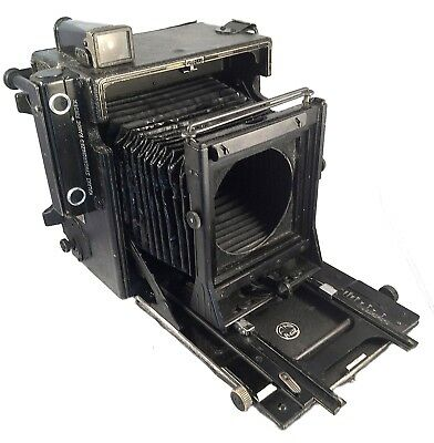 graflex speed graphic 4x5 as is for parts