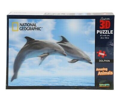 3D PUZZLE - 500 Piece  - National Geographic