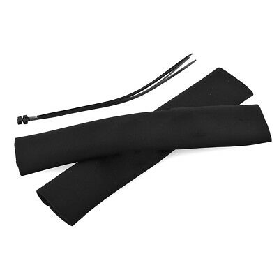new 2pcs Motorcycle Neoprene Fork Gaiter Boots Fork Seal Socks Protector Cable