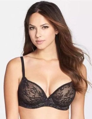 fb41117bf86e3 NEW WACOAL 853201 Lace Finesse T-Shirt Bra 34DD Coffee Bean -  22.50 ...